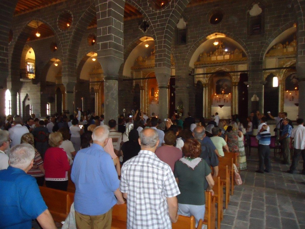 1x1.trans Mass Celebrated at Sourp Giragos Church in Diyarbakir