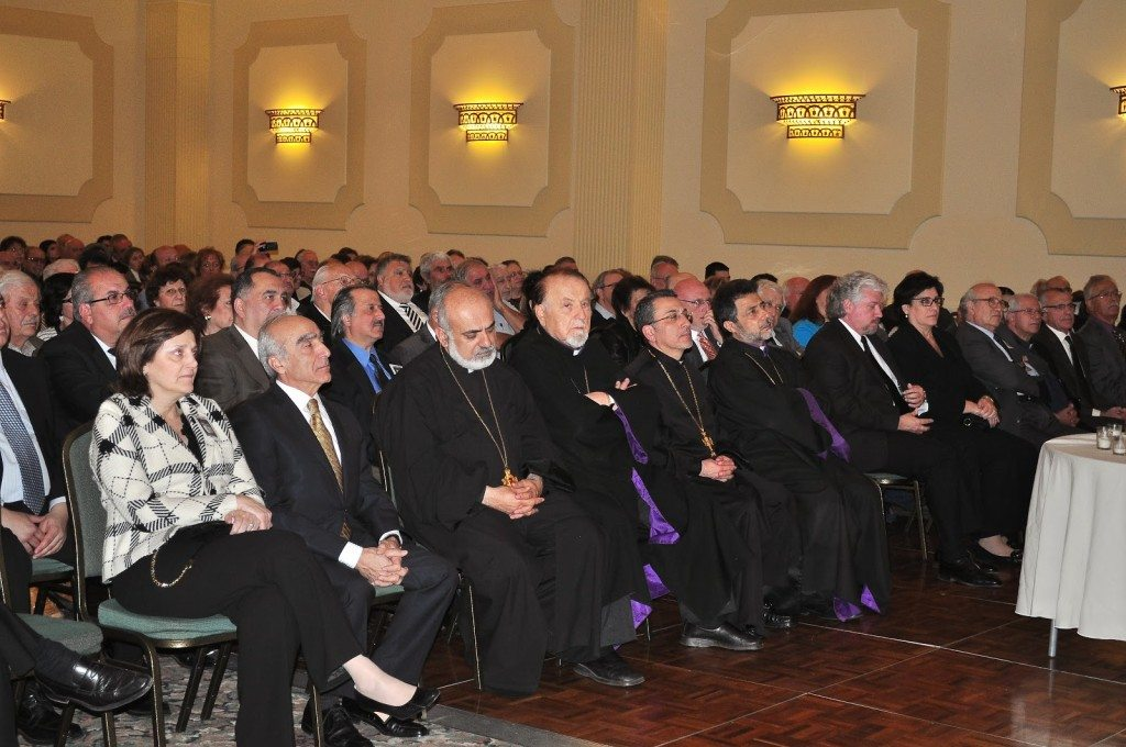 The event brought together representatives of Armenian churches and organizations and a cross section of the community.