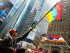 Centennial of the Armenian Genocide commemorated in Times Square (Photo: Anahid Kaprielian)