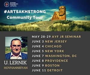 U. Lernik Community Tour – End 6/12
