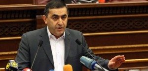 Armen Rustamyan addressed delegates, noting that it is, in fact, Azerbaijan who is using heavy weaponry on the Line of Contact and escalating violence—not the opposite, as the proposed resolution outlined.