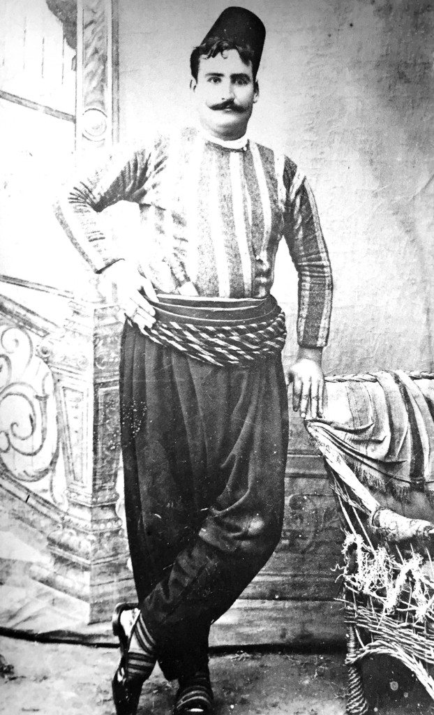 Missak Sarkisian, one of the Armenians who was publicly hanged. Missak, 28, was a butcher who was well known for his beautiful voice (Photo: Mekhitarist Order, San Lassaro, Venice, Italy)