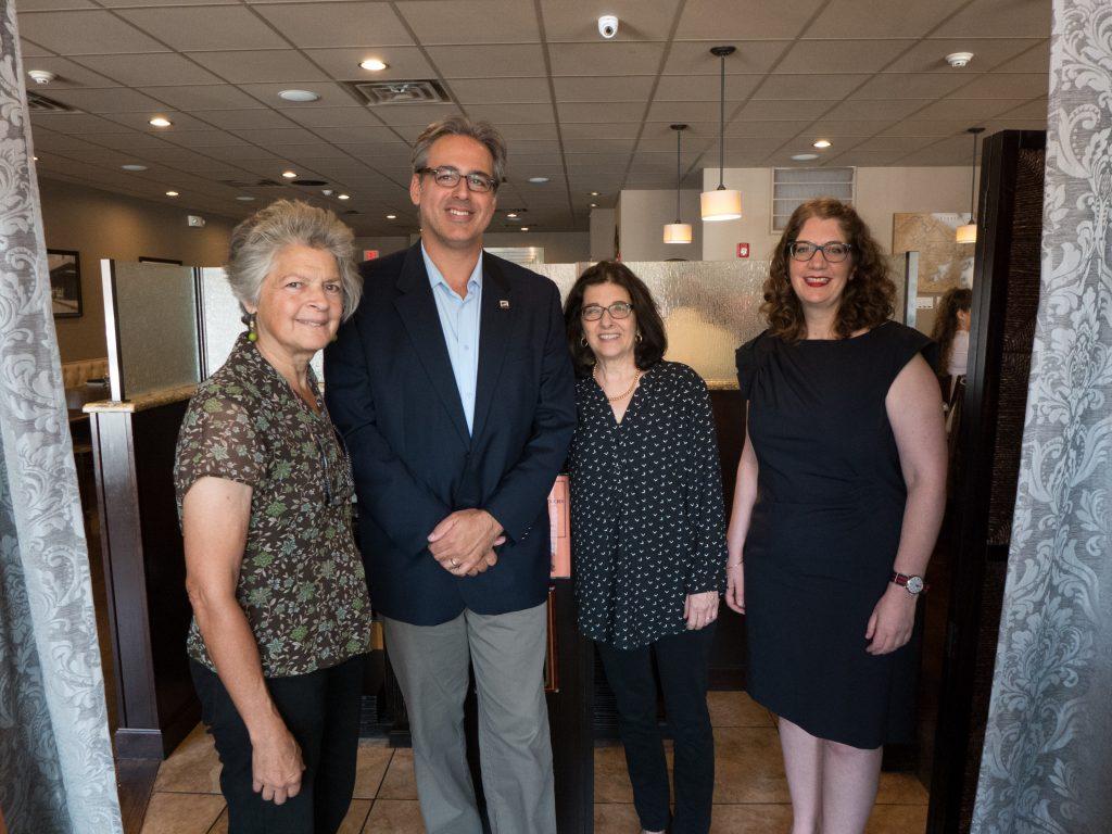 (L to R) Ruth Thomasian, Marc Mamigonian, Sarah Ignatius, and Tsoleen Sarian