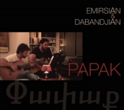 """The cover of """"Papak"""""""
